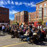 food trucks at SoWa Market in the South End