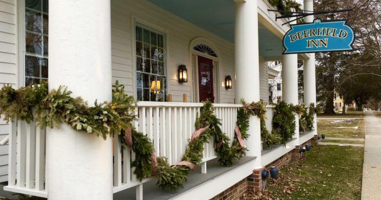A Wintery Weekend at the Deerfield Inn
