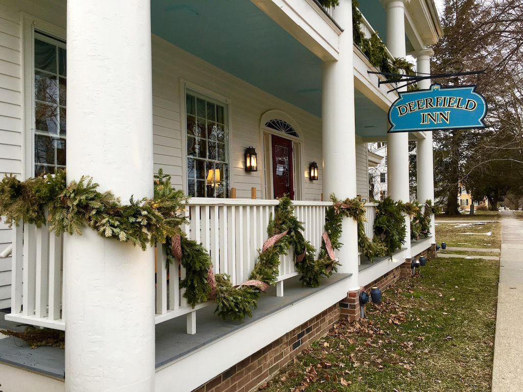 A Wintery Weekend at the Deerfield Inn