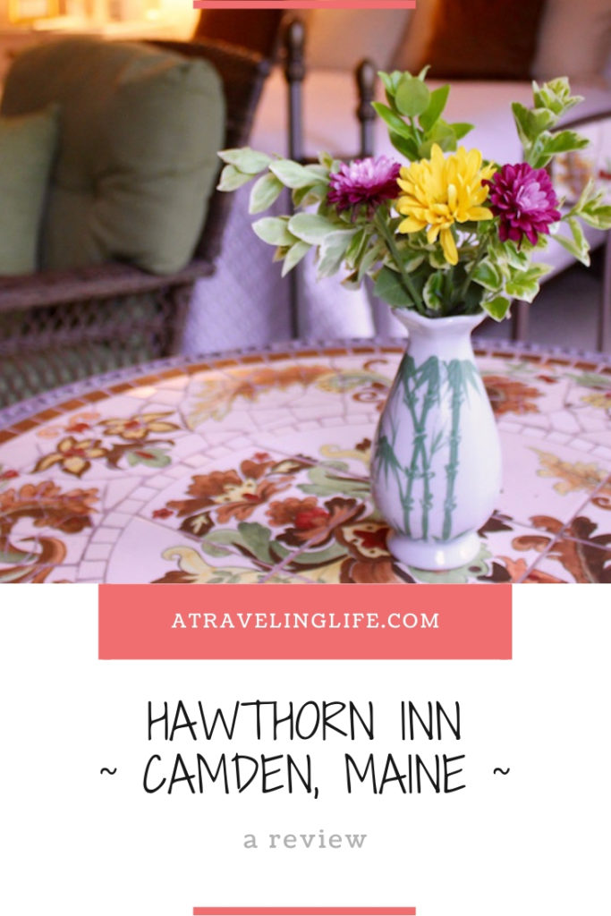 Are you looking for a historic bed and breakfast in Camden, Maine? If so check out my Hawthorn Inn review! I also include suggestions on what to do in Camden, Maine, and places to eat in Camden. | Camden Maine hotels | Camden Maine things to do | Mid Coast Maine | What to do in Camden, Maine | Where to eat in Camden, Maine | #HotelReview #Maine #Camden #NewEngland