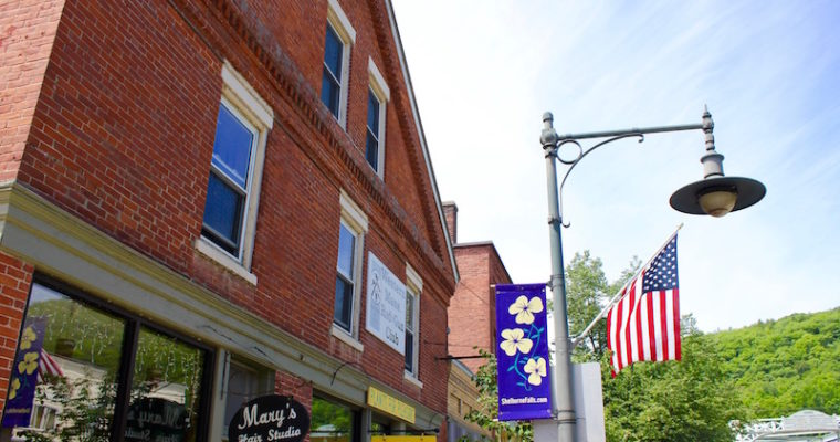 Visit Shelburne Falls: Bridge of Flowers and Glacial Potholes