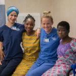 Mercy Ships Nurse Ivanna Figueroa with children