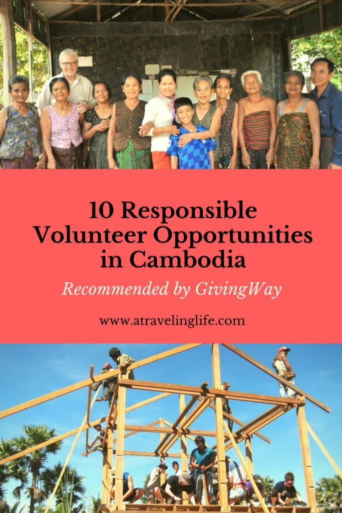 If you want to volunteer in Cambodia and do it responsibly, check out these 10 opportunities recommended by Aviv Hochbaum of GivingWay. | Cambodia volunteer | Responsible travel | Responsible volunteer | Volunteer building in Cambodia | Projects in Cambodia | Where to volunteer in Cambodia | Cambodia travel and volunteer | Volunteering abroad | #Volunteer #ResponsibleTravel #Cambodia