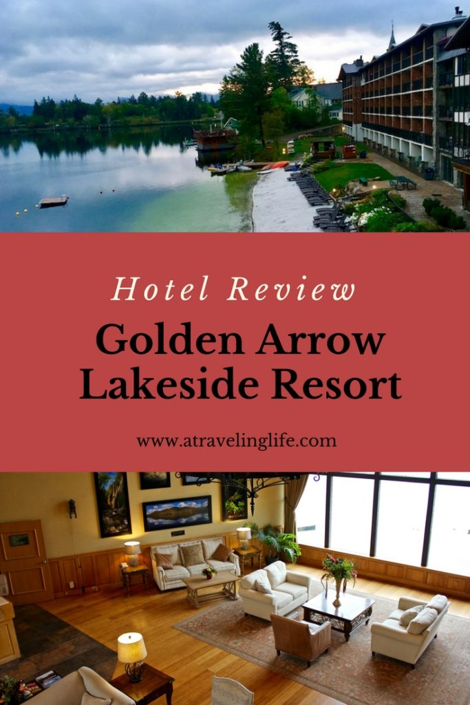 Golden Arrow Lakeside Resort is a pet-friendly ecolodge in Lake Placid, New York. Click through to read my full review. | Eco-friendly | Ecolodge USA | Pet-friendly hotels | Lake Placid lodge | Lake Placid hotels | Lake Placid New York hotels | Mirror Lake New York | #HotelReview #PetFriendly #LakePlacid #NewYork