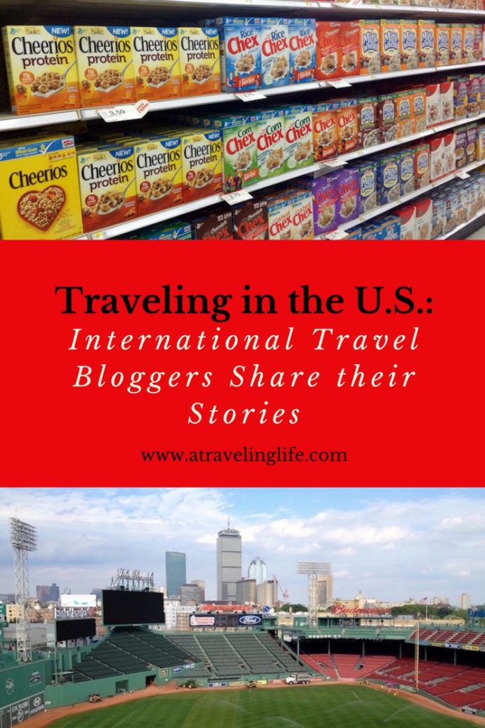 In this post international travel bloggers share their favorite stories of traveling in the U.S.