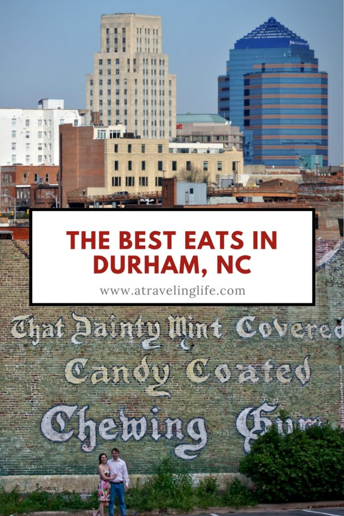 This is a roundup of the best places to eat in Durham, North Carolina.