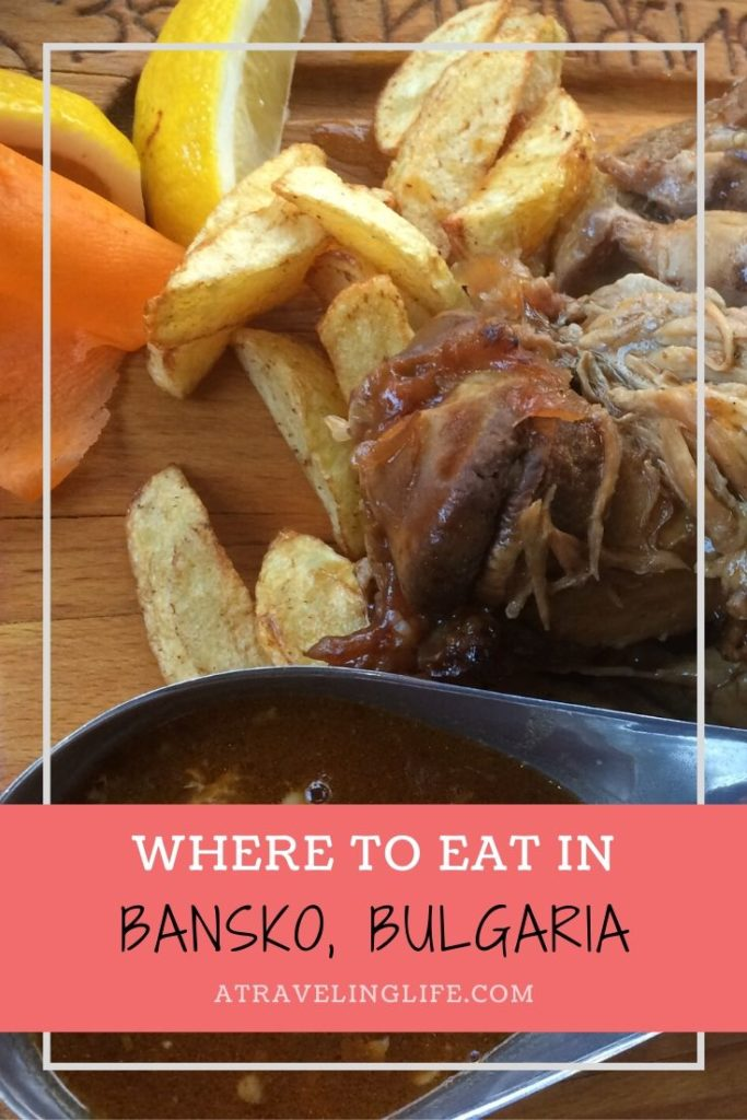 This is a roundup of the best places to eat in Bansko, Bulgaria. Local restaurants and cafes serve up unique regional specialties expertly using fresh, local produce, meats, herbs, and spices. | Bansko Restaurants | Traditional Bulgarian Food | Where to eat in Bansko, Bulgaria | #BulgarianFood #Bansko #Bulgaria #TravelTips