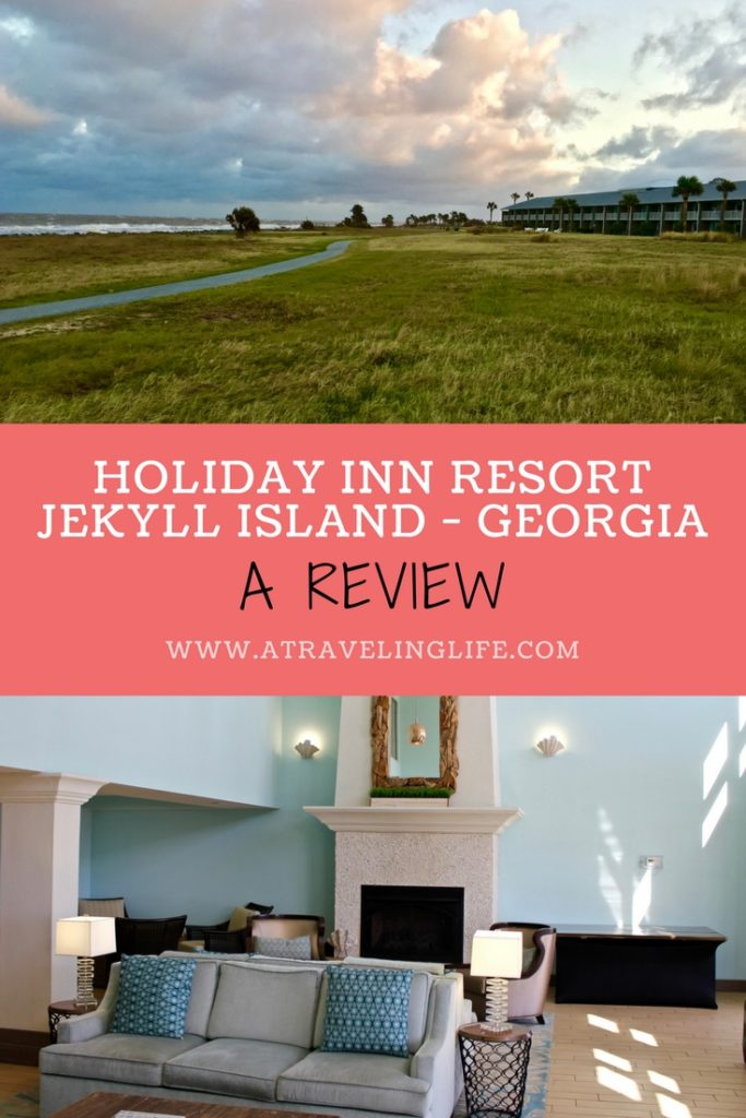 The Holiday Inn Resort Jekyll Island is a peaceful oceanfront hotel on Jekyll Island, Georgia. Click through to read my full review. | Holiday Inn Resort Jekyll Island review | Where to stay in Jekyll Island, Georgia | Pet-friendly hotels | Georgia travel tips | Jekyll Island Georgia hotels | #Georgia #JekyllIsland #HotelReview