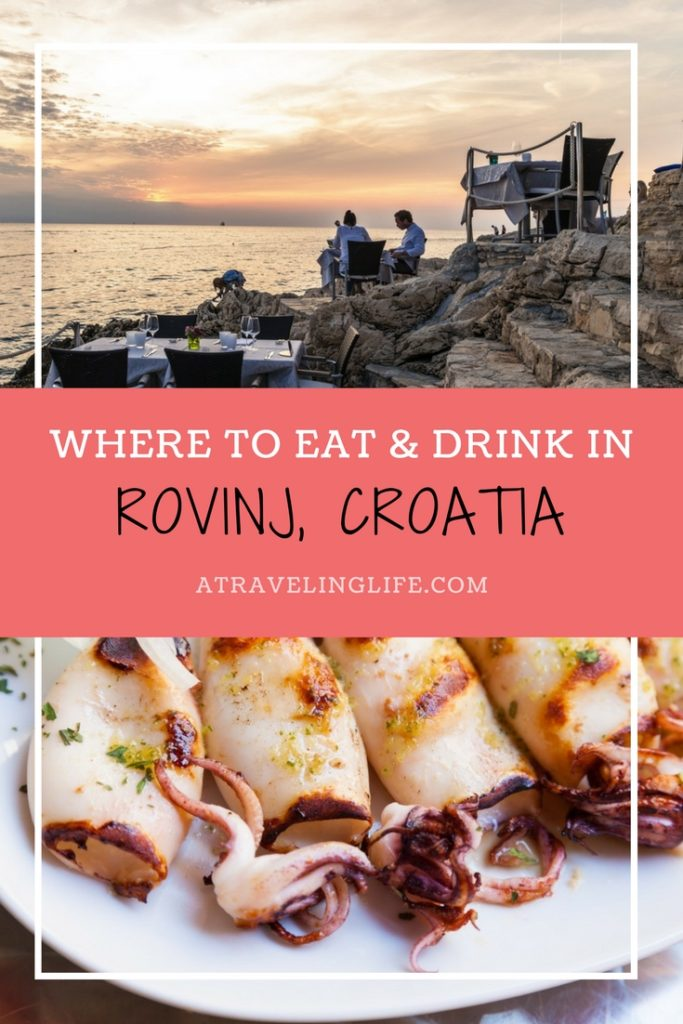 This is a roundup of the best places to eat and drink in Rovinj, Croatia.