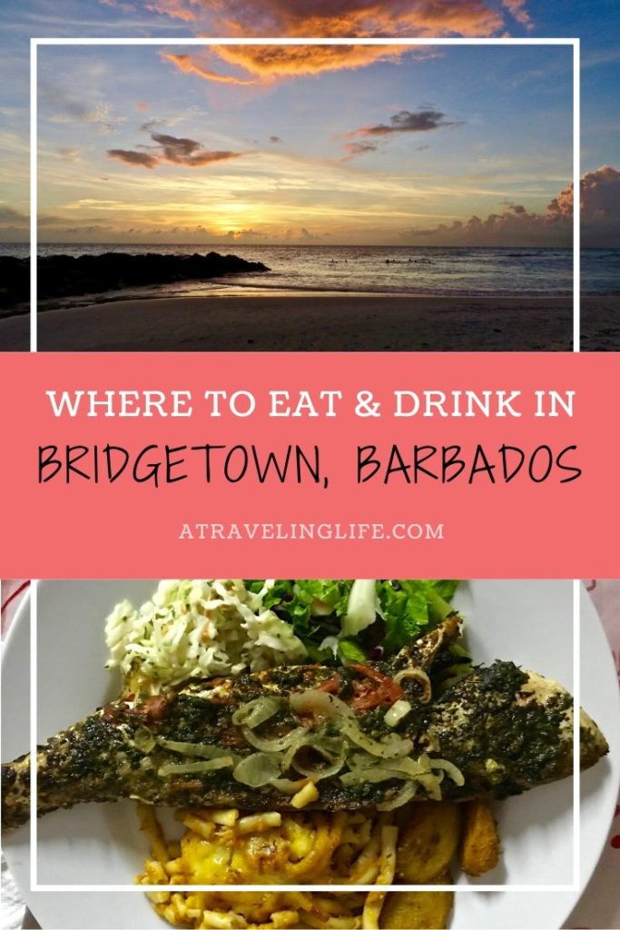Here are the best places to eat in Bridgetown, Barbados. Cookbook author and foodie, Erika Ayn Finch, dishes on where to eat in paradise.   Bridgetown Barbados restaurant   Restaurants in Bridgetown Barbados   Things to do in Barbados   Oistins Fish Fry Barbados   Champers Barbados   #Bridgetown #Foodie #Barbados #TravelTips