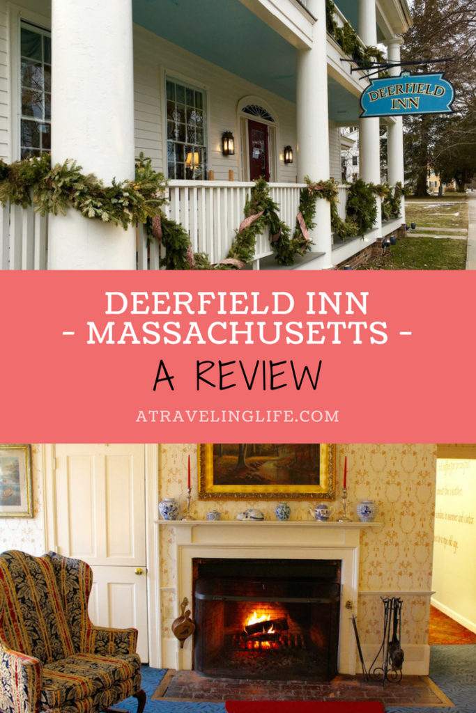 This Deerfield Inn review sums up my one-night stay at the historic property in Deerfield, Massachusetts, which I visited solo during a very cold weekend. The review also includes the best things to in Deerfield. #visitMA