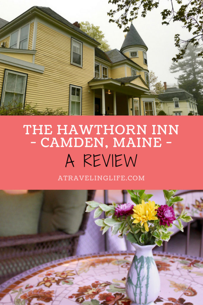 This Hawthorn Inn review sums up my one-night stay at the historic property in Camden, Maine, which made for the perfect girls' getaway. The review includes the best things to do in Camden and the best places to eat in Camden. #mainething #visitmaine