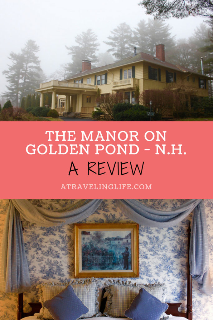 Are you looking for an elegant bed and breakfast in New Hampshire's Lakes Region? If so, check out my Manor on Golden Pond review! | Lakes Region New Hampshire | New Hampshire things to do in winter | | Holderness, New Hampshire | Meredith, New Hampshire | New England | #HotelReview #NewHampshire #NewEngland