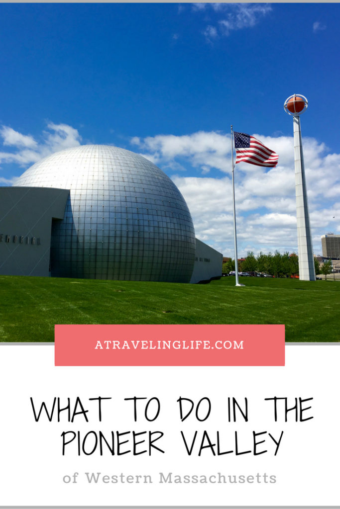 What to do in the Pioneer Valley of Massachusetts. There's something for everyone from history buffs to sports fanatics to nature lovers. | Things to do in Western Mass | Day trips from Boston | Western Mass things to do | Pioneer Valley Massachusetts | #Massachusetts #VisitMa #NewEngland