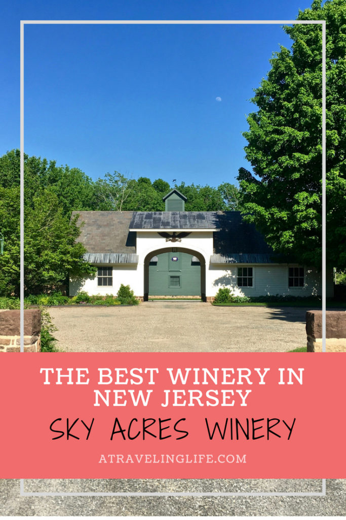 Sky Acres Winery in Bedminster, New Jersey, recently won the title of Best Winery in New Jersey. Check out this one-of-a-kind family operation that's also sustainable! New Jersey wineries | New Jersey wine trail #visitNJ #wine #sustainability