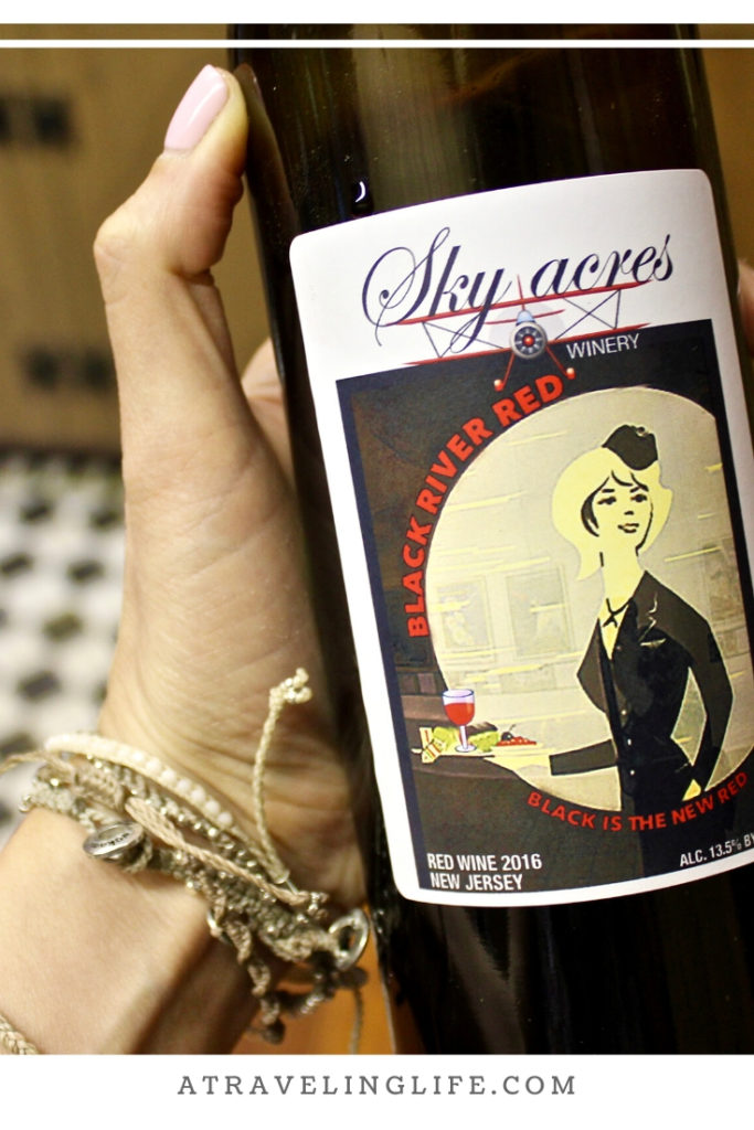 Sky Acres Winery in Bedminster, New Jersey, the Best Winery in New Jersey, and it's also easy on the environment. It doesn't use any water in production! New Jersey wineries | New Jersey wine trail #visitNJ #wine #sustainability
