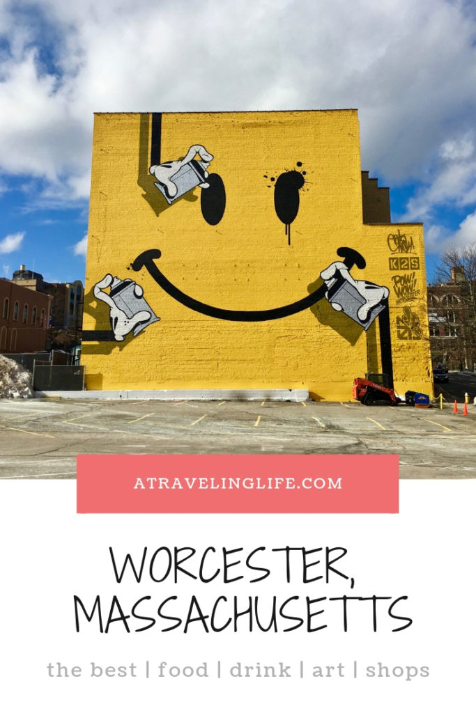 Here is my guide to the best things to do in Worcester, Massachusetts, one of my favorite cities in New England, including:  - where to eat in Worcester - where to drink in Worcester - where to shop in Worcester  - where to stay in Worcester - where to find street art in Worcester
