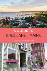 """Here is my weekend guide to Rockland, Maine, highlighting the best things to do in Rockland, which is known as the """"art capital of Maine."""" 