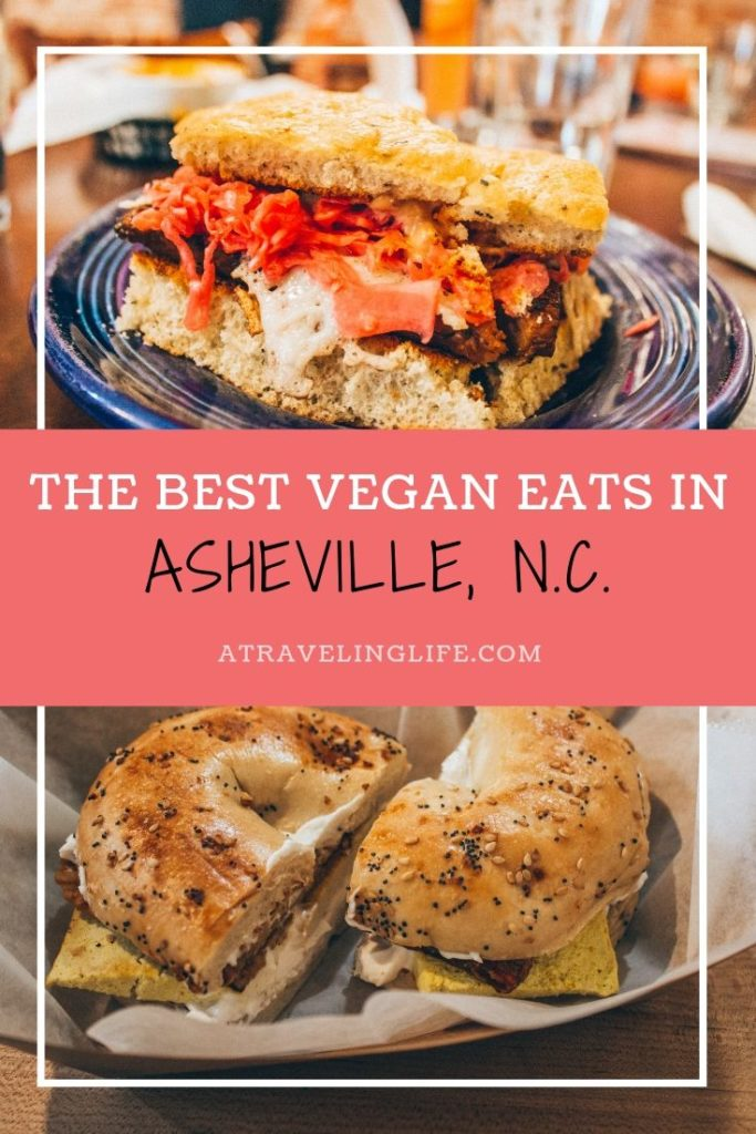 Here are the best places to eat in Asheville, North Carolina, highlighting the best vegetarian restaurants in Asheville and the best vegan restaurants in Asheville. The post also includes some things to do in Asheville. | Vegan Asheville | Best restaurants in Asheville | Asheville restaurants | #visitnc #VisitAsheville #vegantravel #vegetariantravel