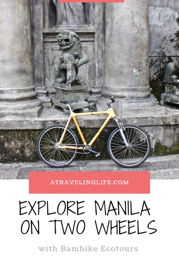 With Bambike Ecotours you can explore Manila on a one-of-a-kind bamboo bicycle! What to Do in Manila | The Best Things to Do in Manila | The Best Ecotours in the Philippines | #itsmorefuninthephilippines #adventuretravel #Manila #Philippines